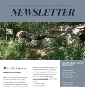 Bild Newsletter August