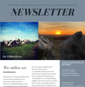 Bild Newsletter september